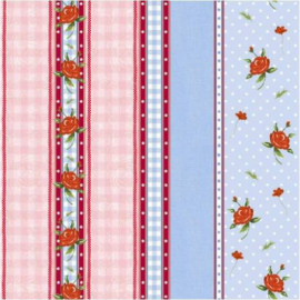 Serviettes papier happy roses - Lot de 20