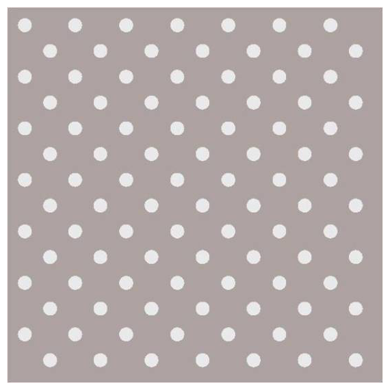 Decoration de table serviettes papier taupe pois blancs - Papier deco a imprimer ...