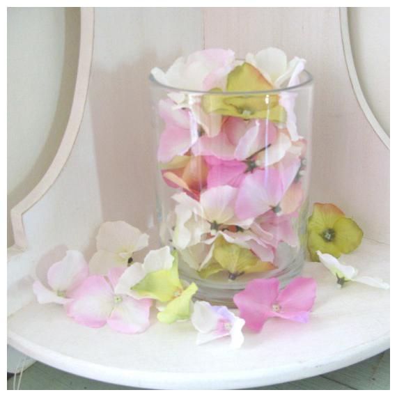 Vase verre cylindrique médium - Diamètre 12, Hauteur 16 cm