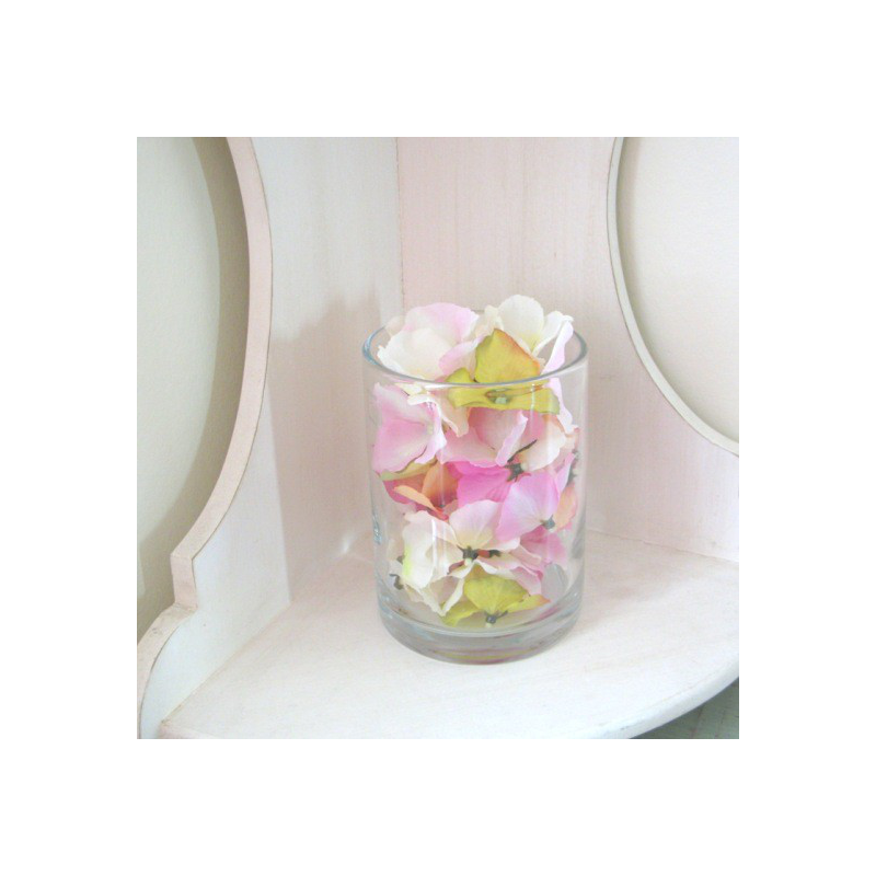 Vase verre cylindrique m dium centre de table - Centre de table vase cylindrique ...