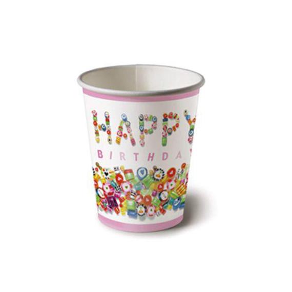 Gobelets Sweet Birthday