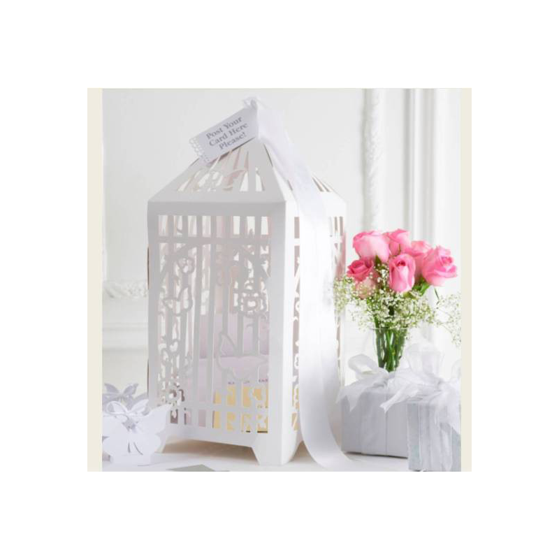 urne de mariage cage - Urne Mariage Cage