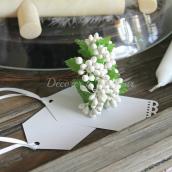 Bouquet de baies blanches