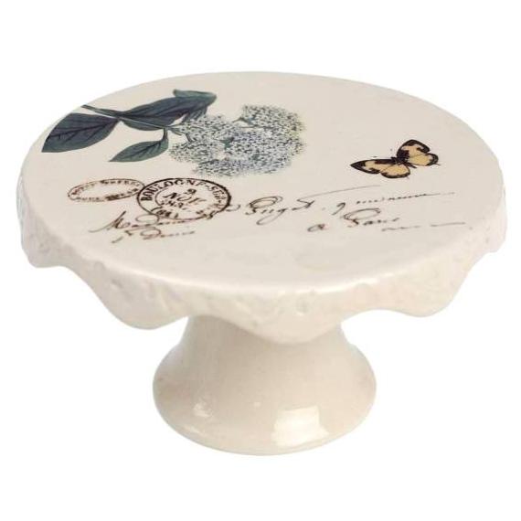 Petit cakestand vintage Hortensia