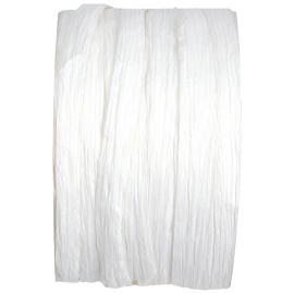 bobine raphia papier blanc