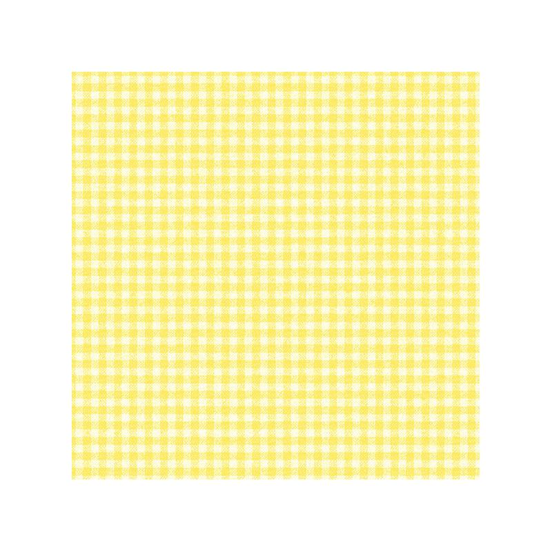 Papier peint vichy jaune id e inspirante for Rangement papier wc