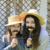Moustaches party - Set de 4 assorties