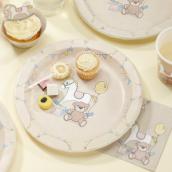 Assiettes baby nursery