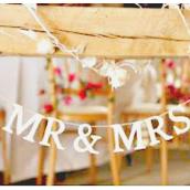 Guirlande Mr & Mrs