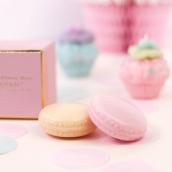 Coffret duo savon macaron peach & pink