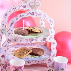 Serviteur carrosse gâteaux et petit fours
