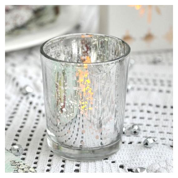 Decoration table photophore verre mercuris e for Decoration verre