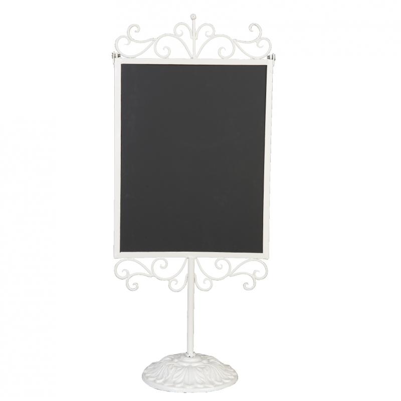 Decoration de buffet affichette tableau noir r tro sur pied - Ecrire sur un tableau noir ...
