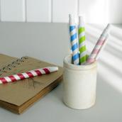 Stylo bille paper straw - coffret de 4