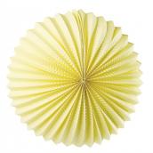 Lanterne papier ronde jaune - 30 cm