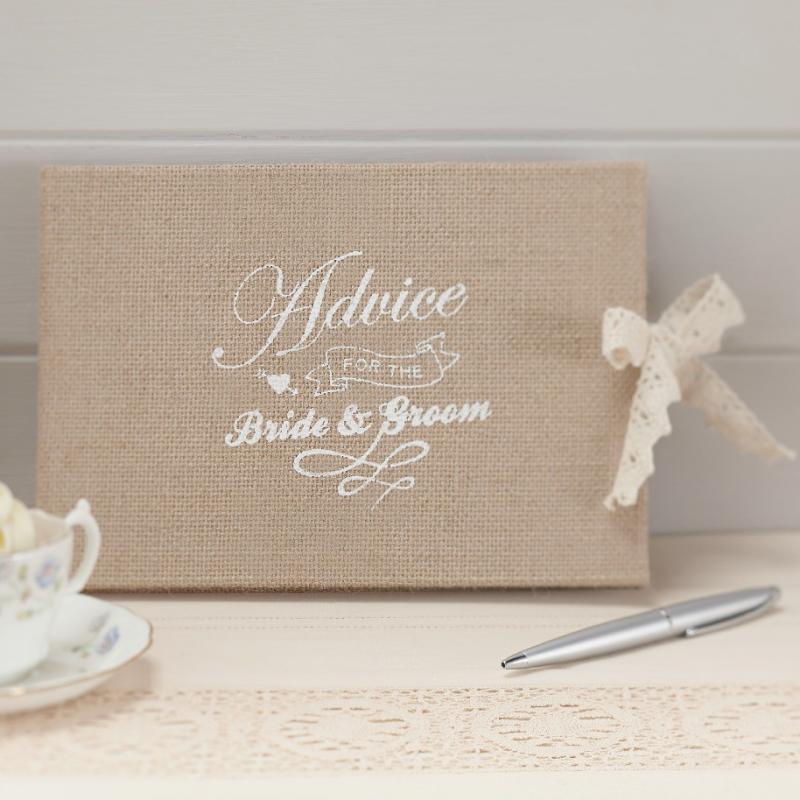 accessoire mariage livre d 39 or vintage toile jute et dentelle. Black Bedroom Furniture Sets. Home Design Ideas