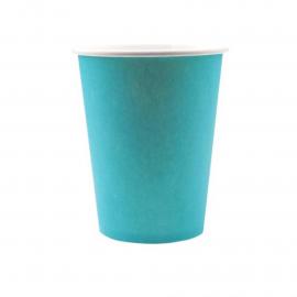 Gobelets unis bleu turquoise