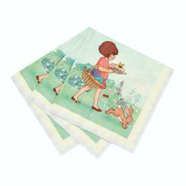 Serviettes papier Belle & rabbit - Lot de 20