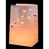 Photophores papier papillons - Lot de 5