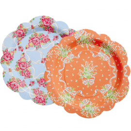 Assiettes duo spring romance