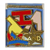 Guirlande Happy Birthday Glitter color