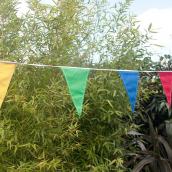 Guirlande de fanions happy kermesse - 8 mètres
