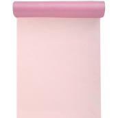 Chemin de table organdi rose
