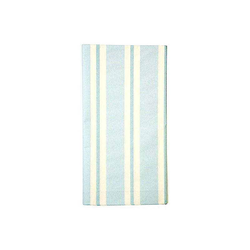 decoration de table nappe papier fairy rayures bleues. Black Bedroom Furniture Sets. Home Design Ideas