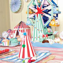 Centre de table cakestand fête foraine