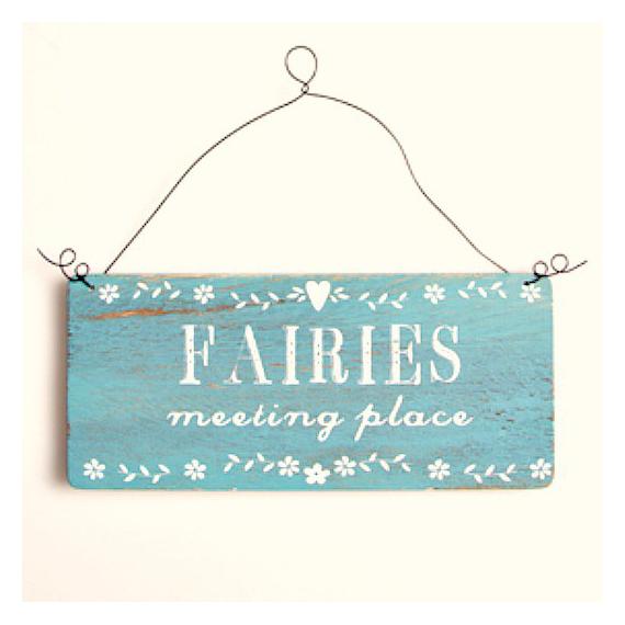 Pancarte décorative Fairies
