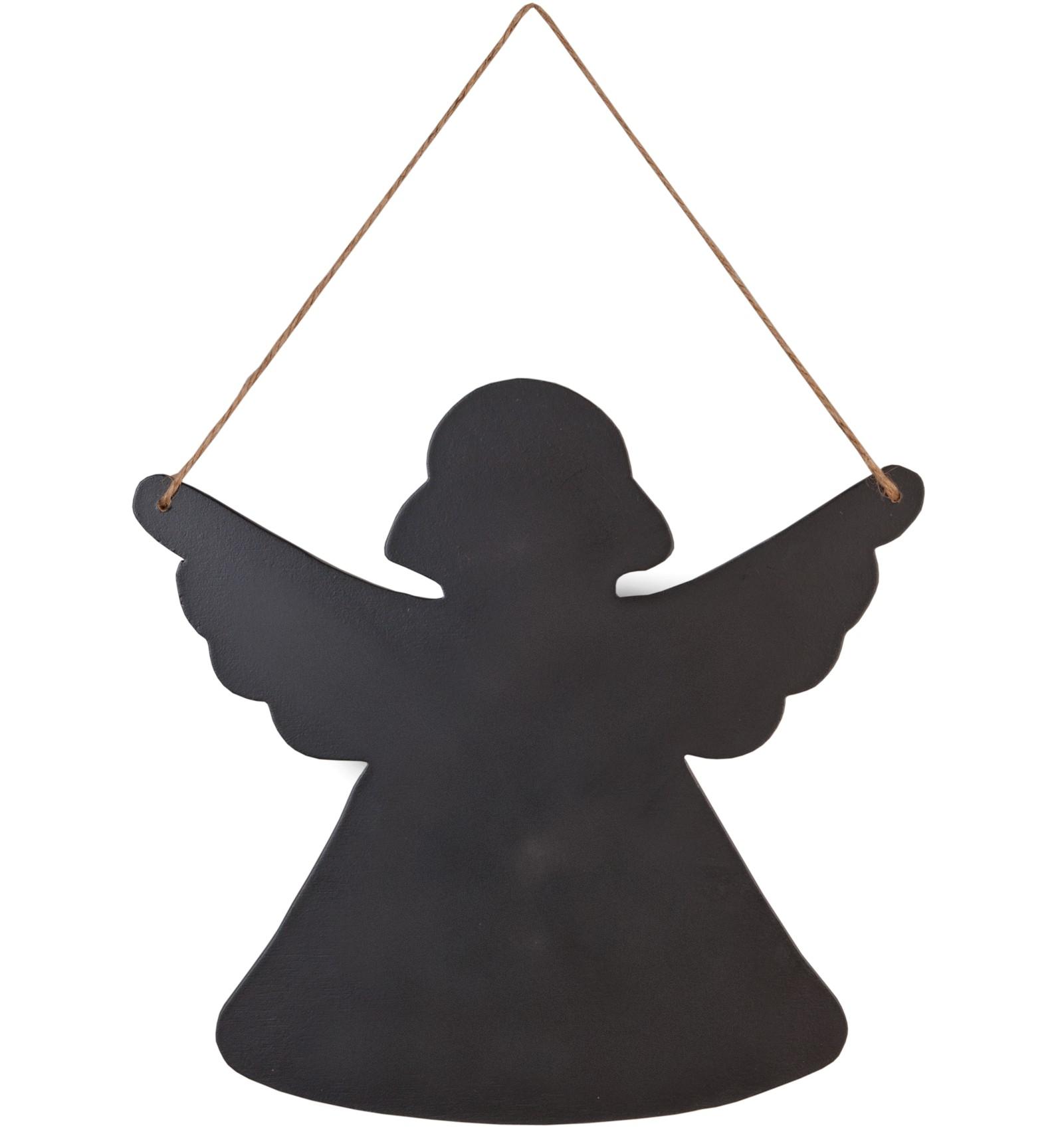 Decoration de salle tableau noir angelot