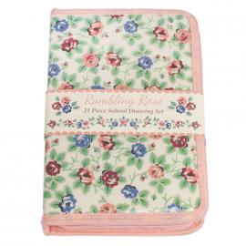 Trousse kit dessin jolies roses