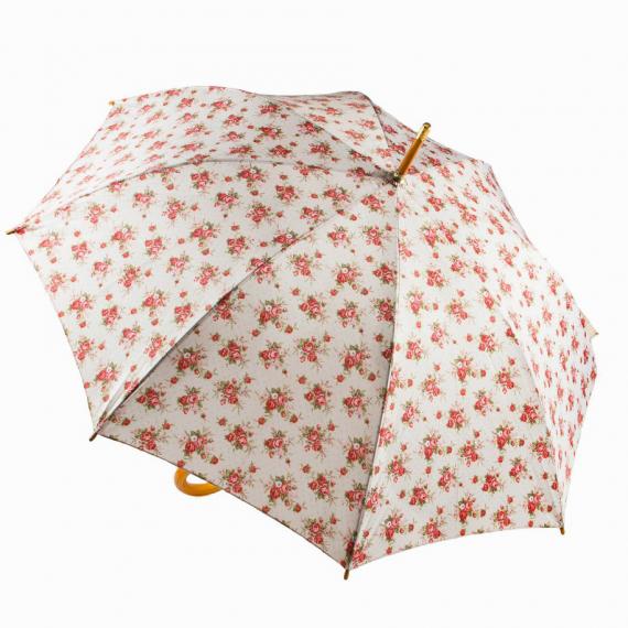 Parapluie vintage roses
