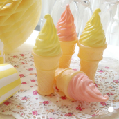 Bulles de savon Ice cream - Lot de 10 assortis