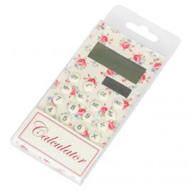 Calculatrice solaire petites roses