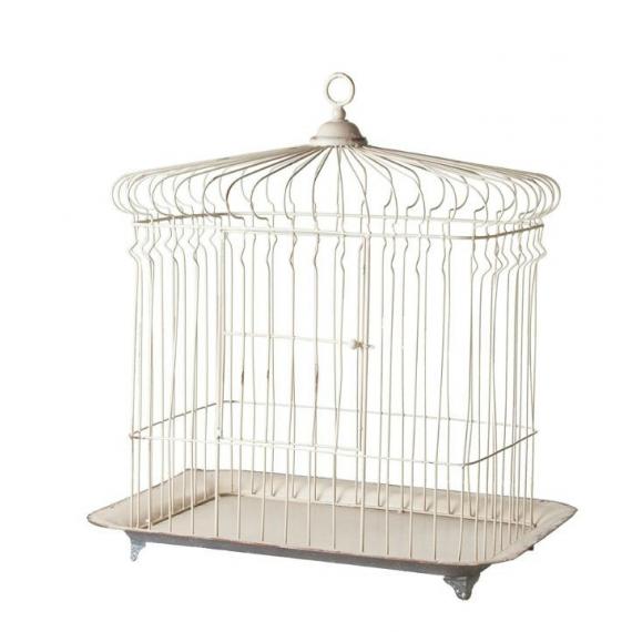Cage oiseaux shabby jolie