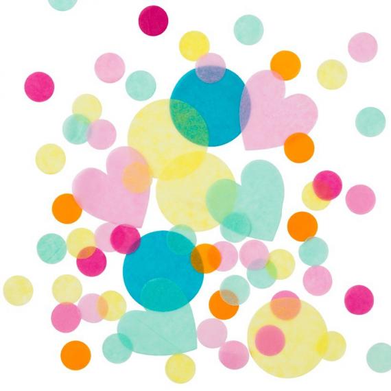 Confettis multi happy