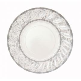 Assiettes gâteaux jolie table silver
