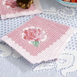 Serviettes papier flower springtime - Lot de 20