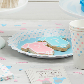 Assiettes pastel dots