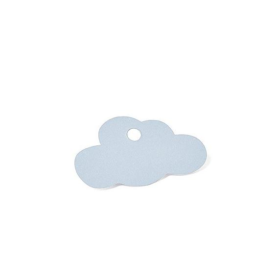 Etiquettes nuage bleu - Lot de 24