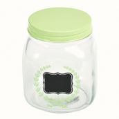Bonbonnière label ardoise top vert
