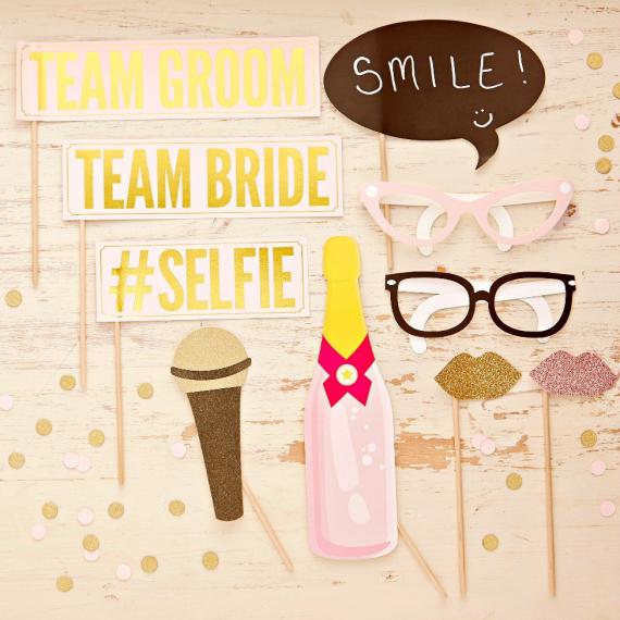 Set photobooth wedding so chic