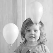Mini ballons harmonie blue - Lot de 6