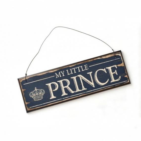 Pancarte rétro prince