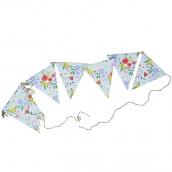 Guirlande de fanions happy flowers