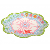 Grandes assiettes gipsy