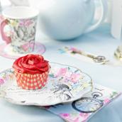 Assiettes gâteaux So Alice