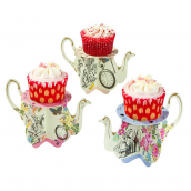 Mini cakestand So Alice - Lot de 3