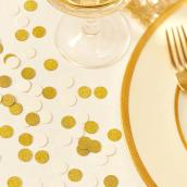 Confettis mix party crème & or so chic